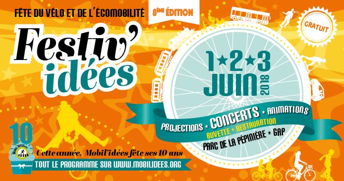 Projection festival Mobil'idées (05) à Gap le 2 juin 2018 à 11h