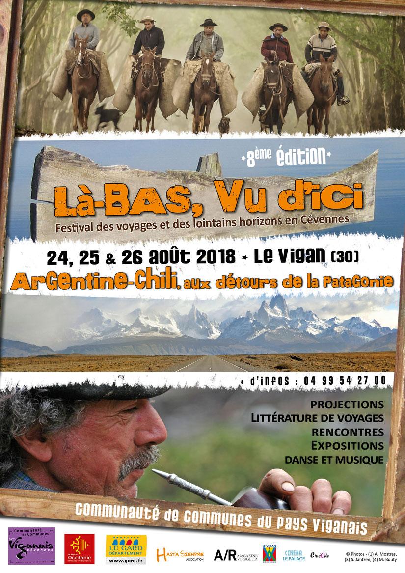 Projection festival Là-bas, vu d'ici au Vigan (30) le 25 août à 17h
