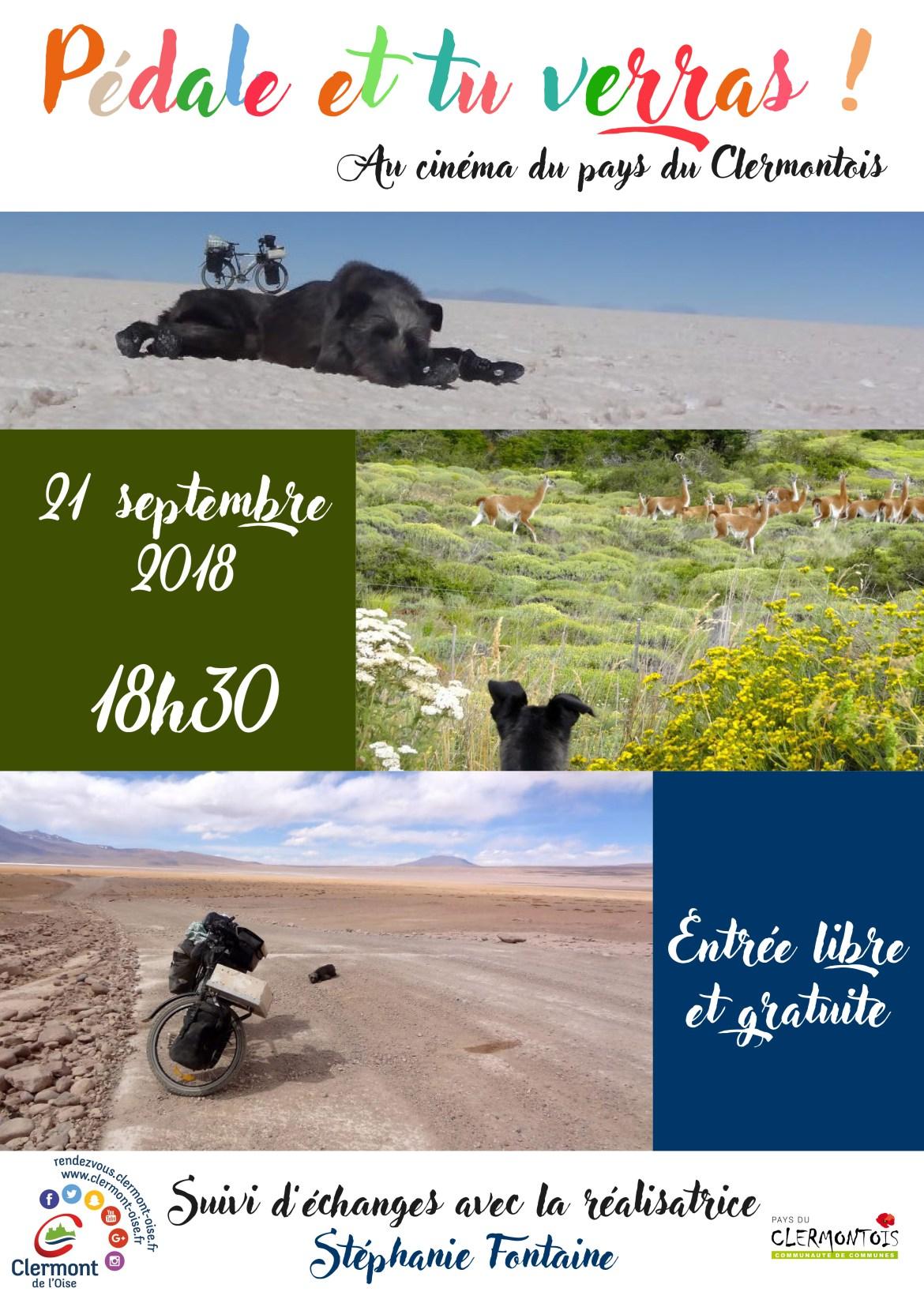 Projection au cinéma de Clermont de l'Oise (60) le 21 septembre à 18h30
