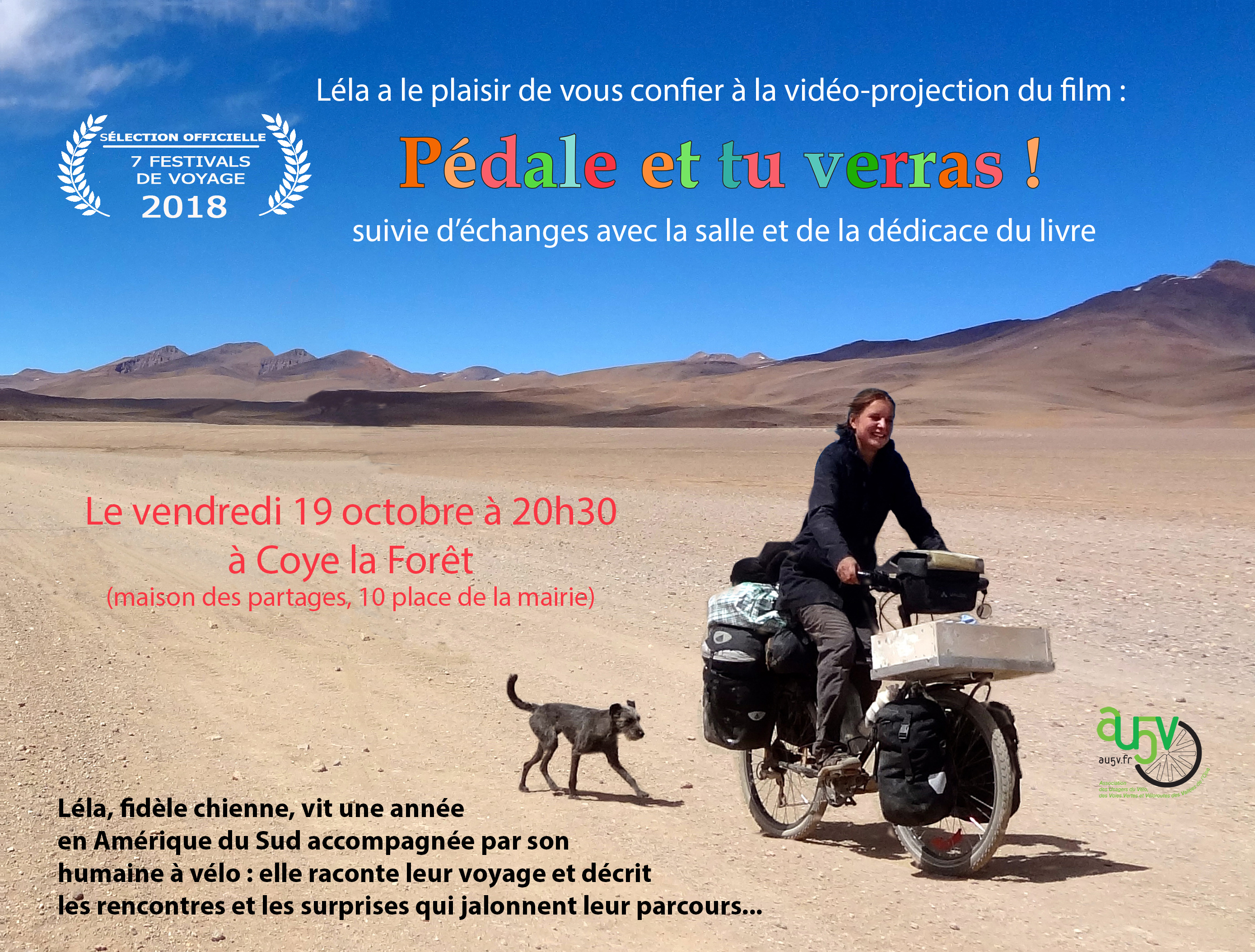 Projection à Coye la Forêt (60) le 19 octobre 2018 à 20h30