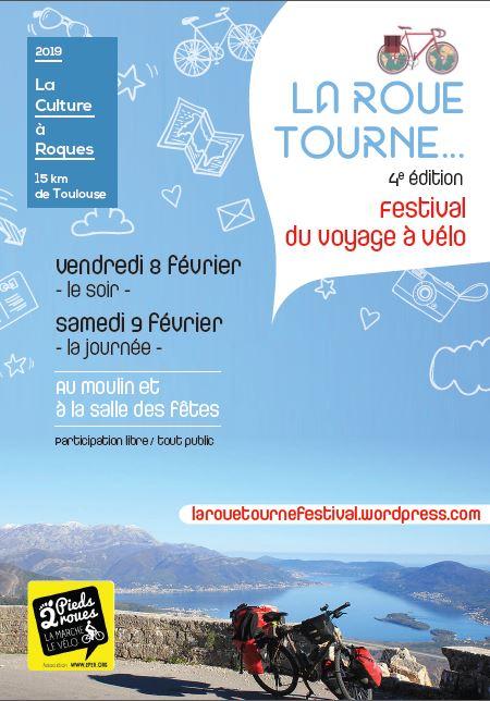 Projection festival La roue Tourne à Roques (31) le samedi 29 février 2019 à 15h30