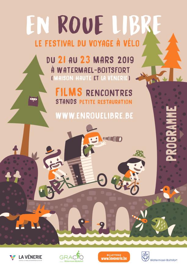Projection festival En roue libre à Bruxelles (Belgique) le samedi 23 mars 2019 à 16h