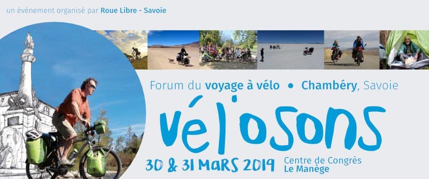 Projection festival Vél'osons à Chambery (73) le samedi 30 mars à 18h45